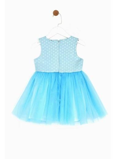 Riccione Kız Bebek Mavi Elbise 19SS0RR2906 Mavi